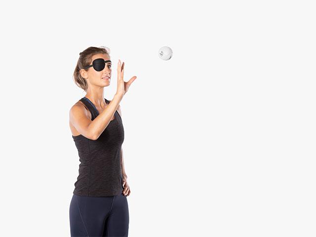 Fortgeschrittene Übung Visuelles System - Kombination Basisübungen (Augenfolgebewegung + Endfixierung)