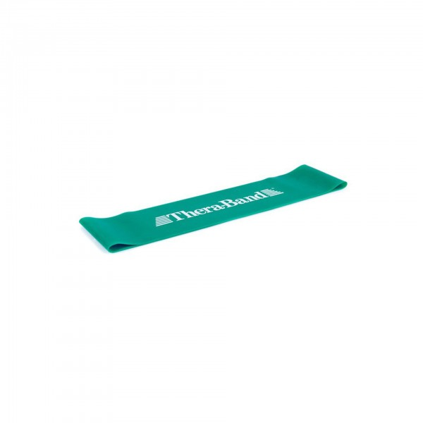 Produktbild TheraBand Loop 7,6 cm x 30,5 cm, Ø 20 cm, stark / grün