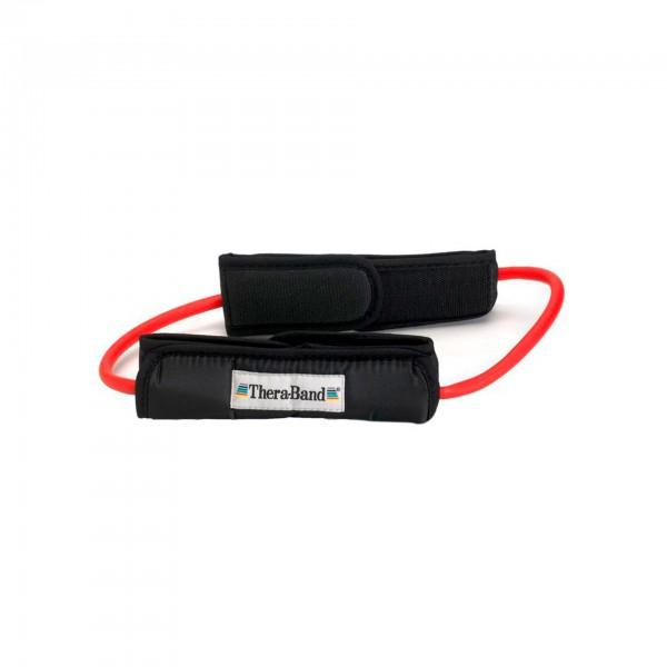 Produktbild TheraBand Tubing Loop, mittel stark / rot