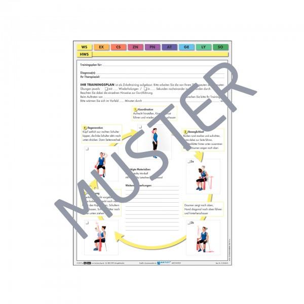 Produktbild ARTZT vitality Trainingsblock, HWS