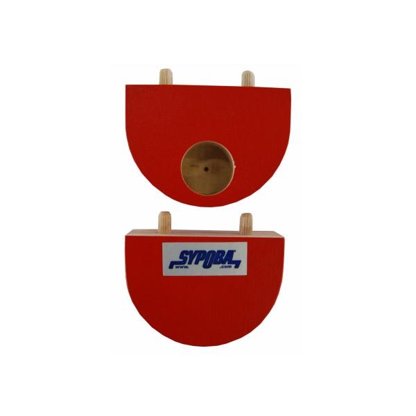 Produktbild SYPOBA Kippbretter Fitness (1 Paar), rot