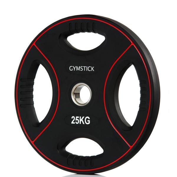 Produktbild Gymstick Pro PU Gewichtsplatte, 25 kg