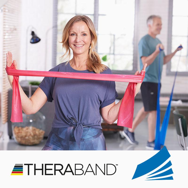 TheraBand Übungsanleitung