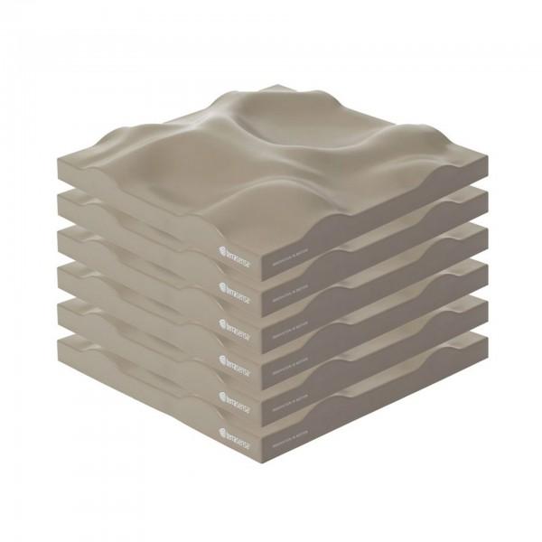 Produktbild terrasensa Strukturbodenplatte 6er-Set