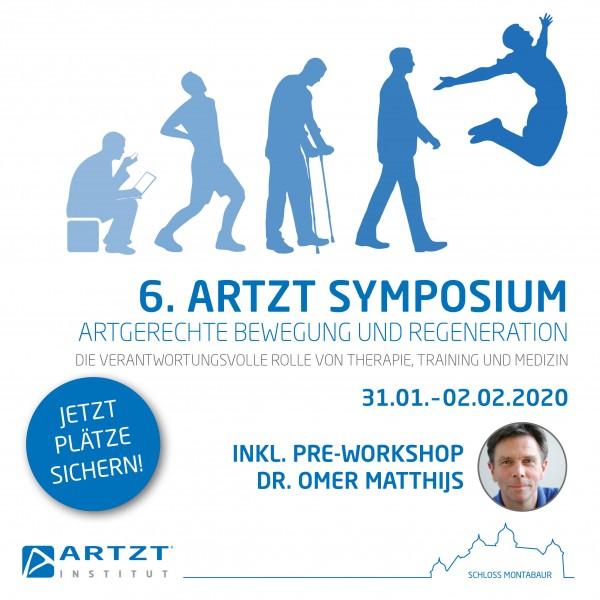 6. ARTZT Symposium + Pre-Workshop Dr. Omer Matthijs