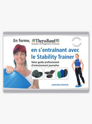 En forme, TheraBand en s'entraînant avec le Stability trainer