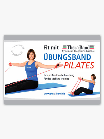 Fit mit dem TheraBand Übungsband Pilates