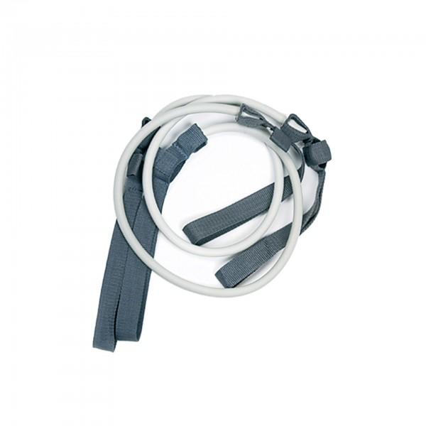 Produktbild Gymstick Ersatztubings, extra stark / silber