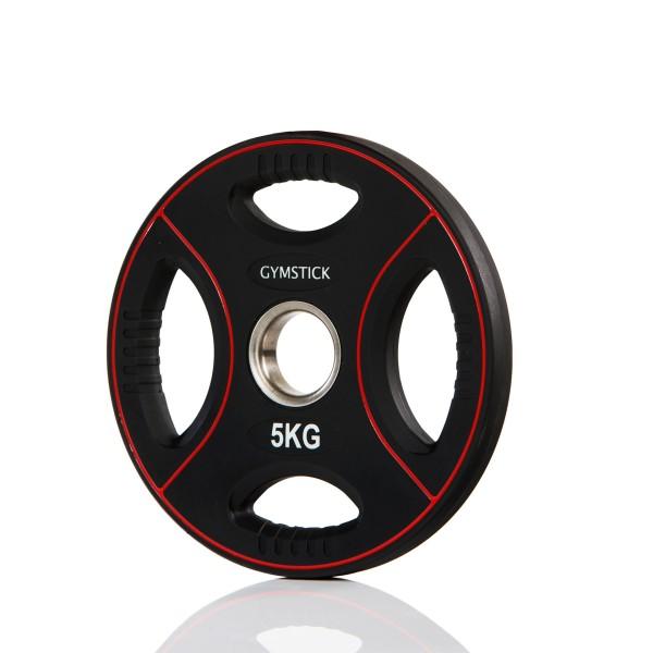 Produktbild Gymstick Pro PU Gewichtsplatte, 5 kg