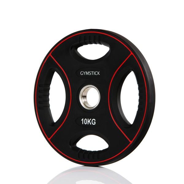 Produktbild Gymstick Pro PU Gewichtsplatte, 10 kg