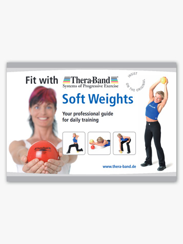 Exercise Instruction TheraBand Soft Weights