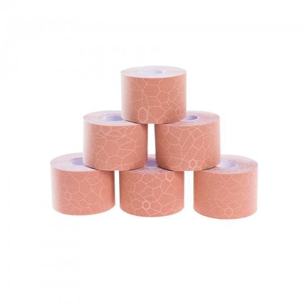Produktbild TheraBand Kinesiology Tape Rollen-Set 5 m x 5 cm (6 St.), sand