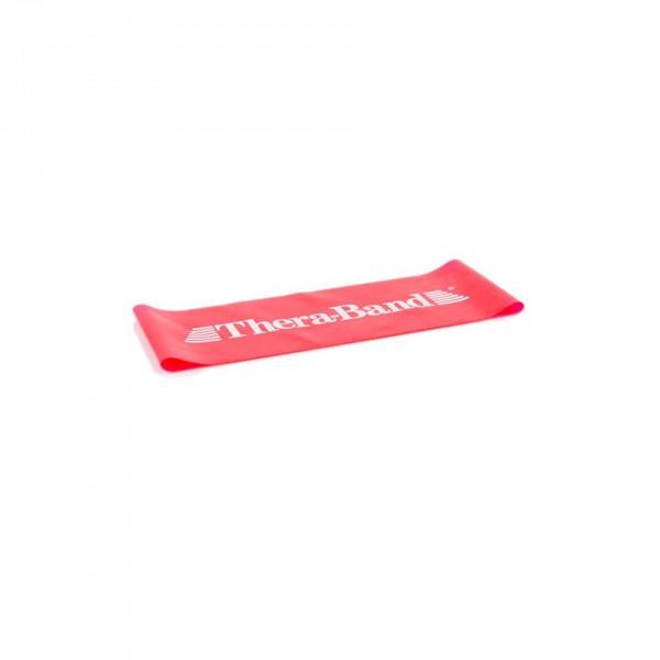 Produktbild TheraBand Loop 7,6 cm x 20,5 cm, Ø 13 cm, mittel stark / rot