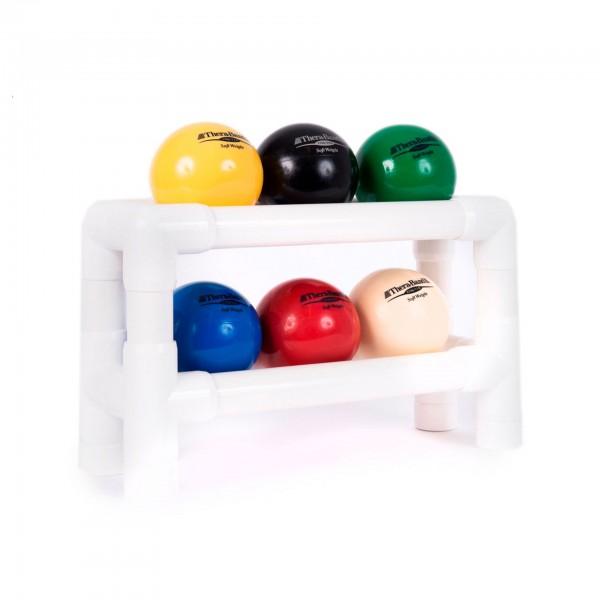 Produktbild TheraBand Soft Weight Regal (zweistufig, für 6 Bälle) - gebraucht