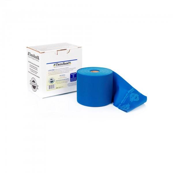 Produktbild TheraBand latexfreies Übungsband 22,85 m, extra stark / blau