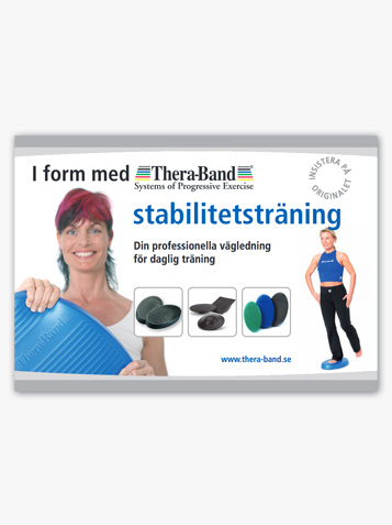 In form med TheraBand stabilitetsträning