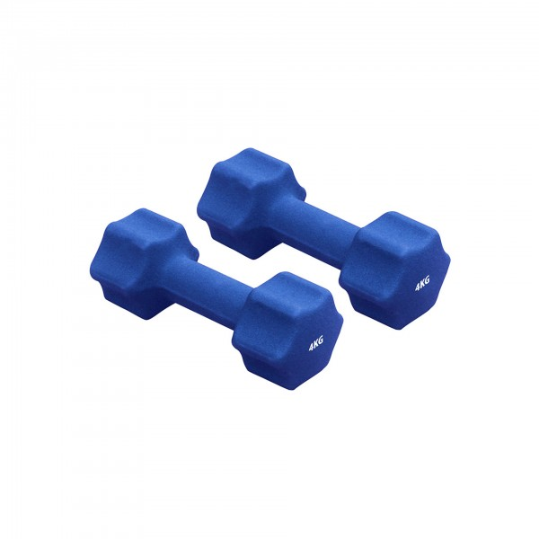 Produktbild Gymstick Neopren-Hanteln (1 Paar), 4 kg / blau