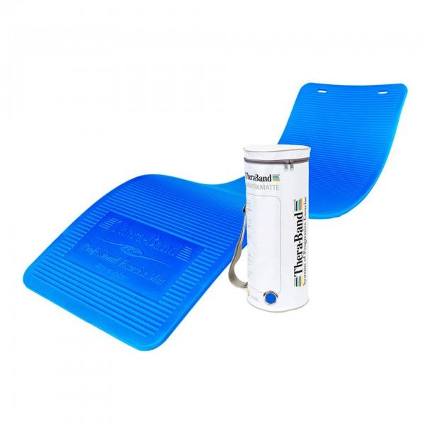 Produktbild TheraBand Gymnastikmatte in RV-Tasche 190 x 60 x 1,5 cm, blau