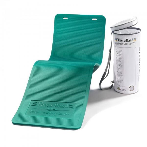 Produktbild TheraBand Gymnastikmatte in RV-Tasche 190 x 60 x 1,5 cm, grün