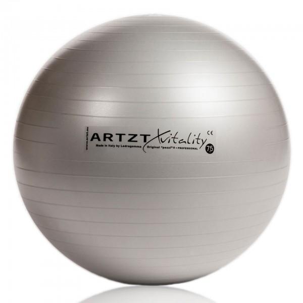 Produktbild ARTZT vitality Fitness-Ball Professional silber, 75 cm