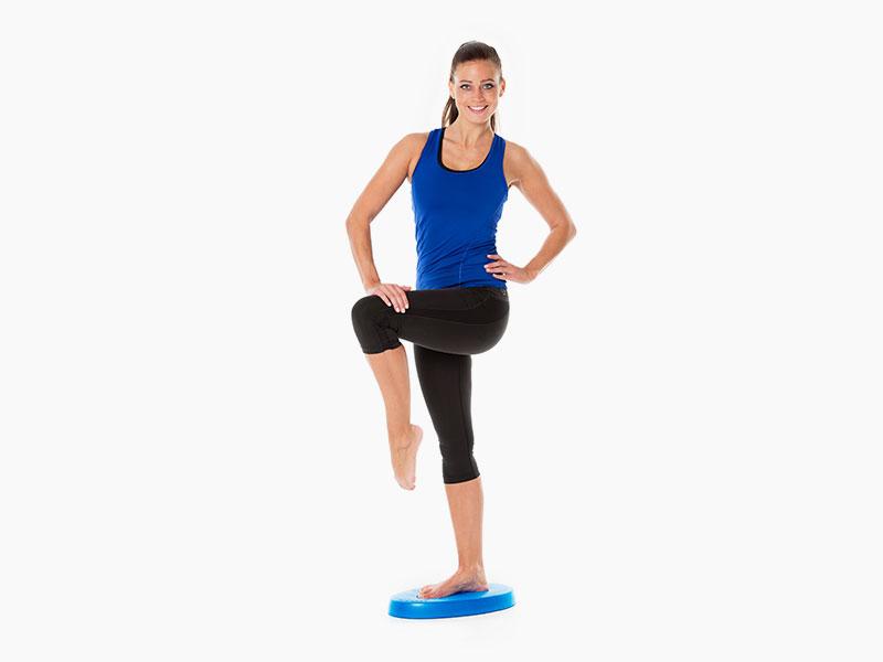 Balance- und Stabilitätstrainer Übungen