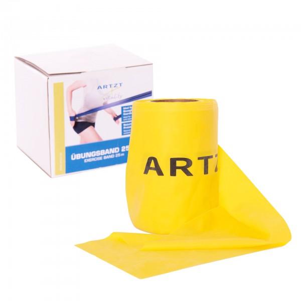 Produktbild ARTZT vitality Übungsband Rolle 25 m, gelb