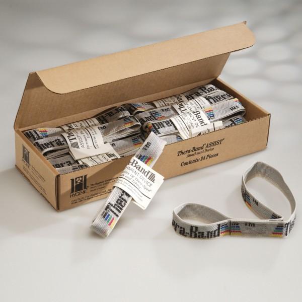Produktbild TheraBand Assists, grau (24 Stück)
