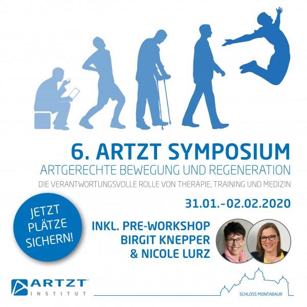 6. ARTZT Symposium + Pre-Workshop Birgit Knepper & Nicole Lurz