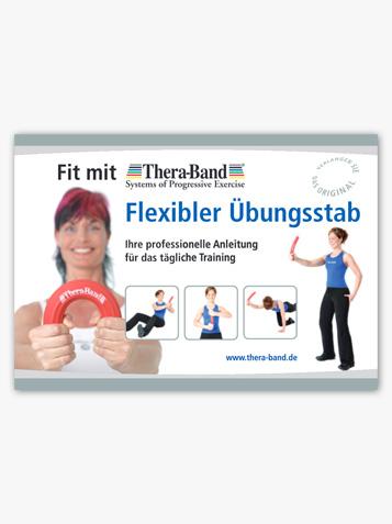 Fit mit dem TheraBand Flexibler Übungsstab