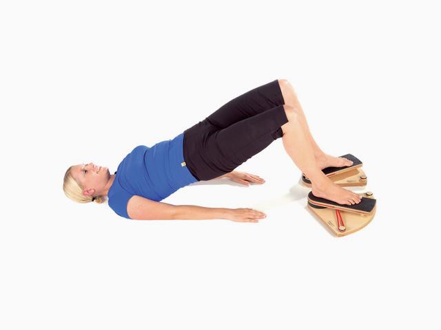 Kniegelenk Innenrotation in Rückenlage
