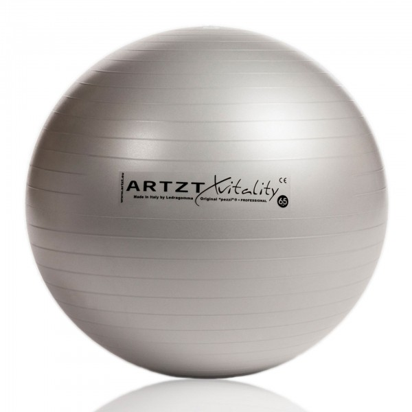Produktbild ARTZT vitality Fitness-Ball Professional silber, 65 cm