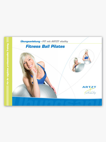 Übungsanleitung Fitness-Ball Pilates