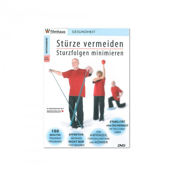 Produktbild DVD Stürze vermeiden, Sturzfolgen minimieren