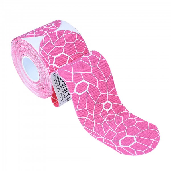 Produktbild TheraBand Kinesiology Tape Precut Rollen (20 Tapes á 25,4 x 5 cm), pink
