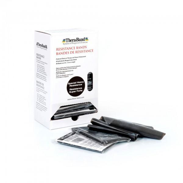 Produktbild TheraBand Übungsband Dispenser, spezial stark / schwarz
