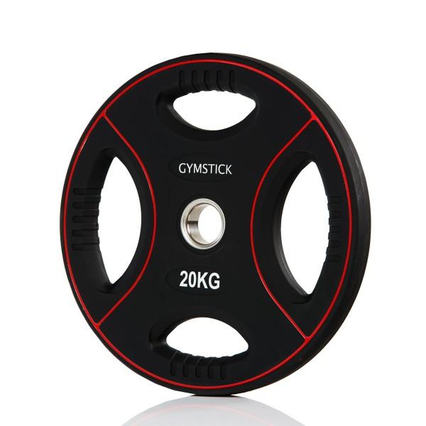 Produktbild Gymstick Pro PU Gewichtsplatte, 20 kg