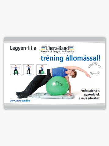 Fit met TheraBand trainingsstation
