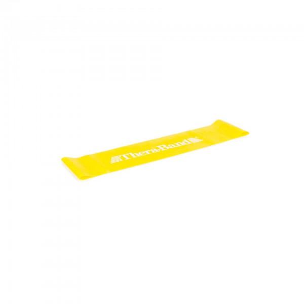 Produktbild TheraBand Loop 7,6 cm x 30,5 cm, Ø 20 cm, dünn / gelb