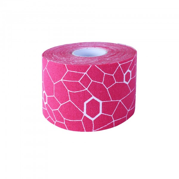 Produktbild TheraBand Kinesiology Tape Rolle 5 m x 5 cm, pink