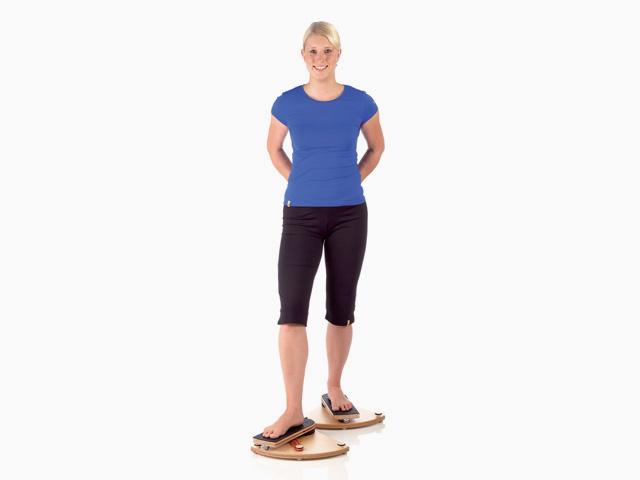 Hüftgelenk Außen- und Innenrotation in Schrittstellung vorne