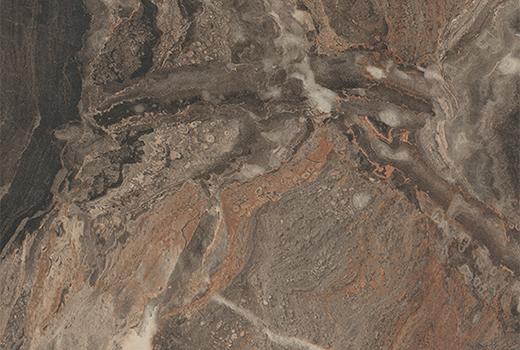 Cipollino Marmor schwarz-kupfer