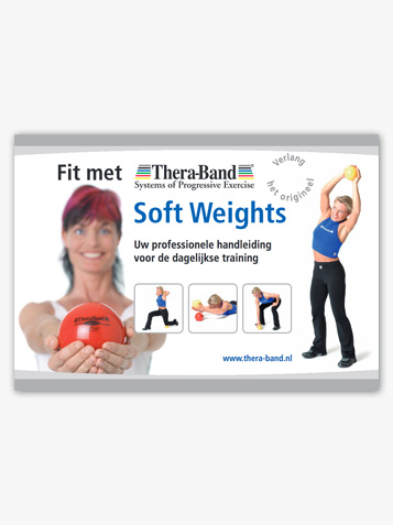 Fit met TheraBand Soft Weights