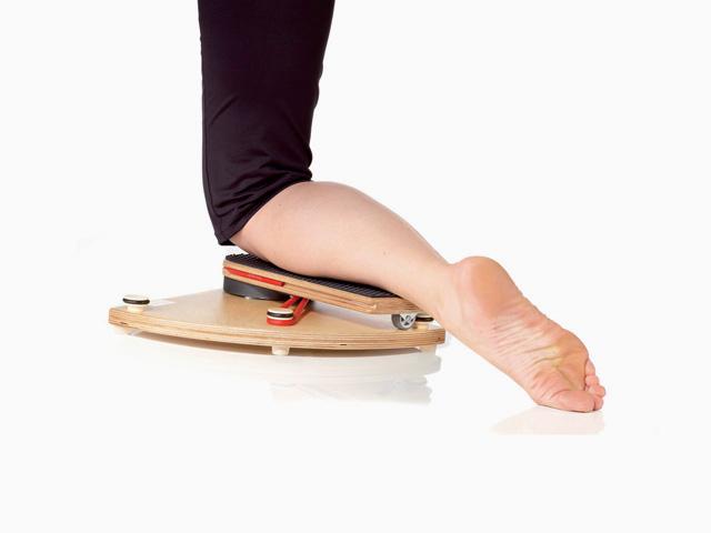 Hüftgelenk Außen- und Innenrotation in Schrittstellung im Vierfüßlerstand