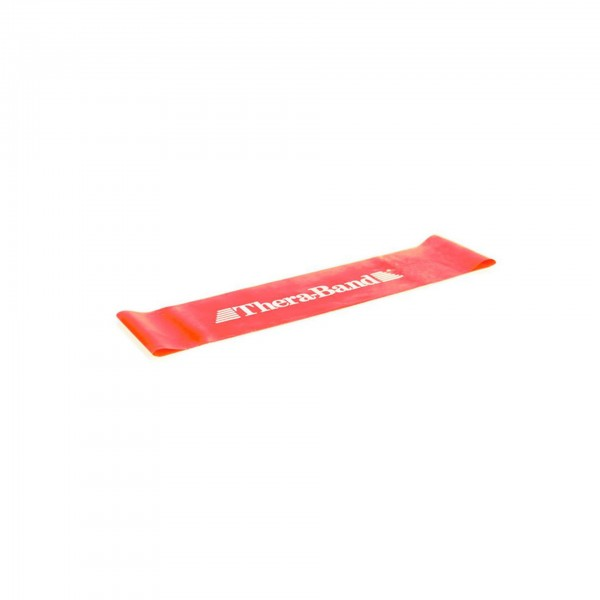 Produktbild TheraBand Loop 7,6 cm x 30,5 cm, Ø 20 cm, mittel stark / rot